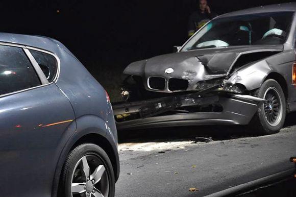 Grzymiszew: Miał BMW i prawie 3 promile....