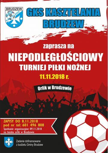 Brudzew: Zagraj w Niepodległościowym Turnieju Piłki Nożnej