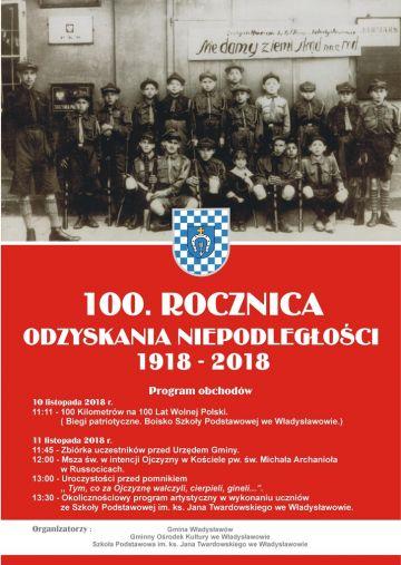 Władysławów: Sportowo i patriotycznie uczczą odzyskanie niepodległości