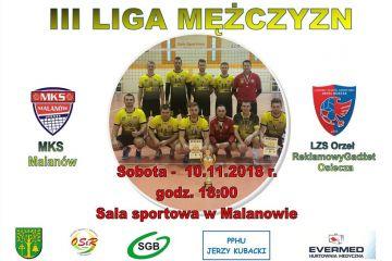 MKS Malanów vs LZS Orzeł Reklamowy Gadżet Osiecza