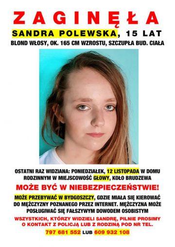 Zaginęła Sandra Polewska. Rodzina prosi o pomoc!