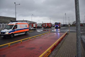 Pożar na Jedwabniczej, jedna osoba poszkodowana