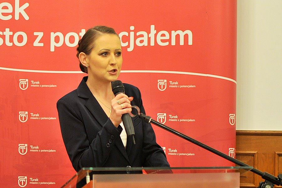 Mariola Kadrzyńska-Siwek przewodniczącą Rady Miejskiej Turku