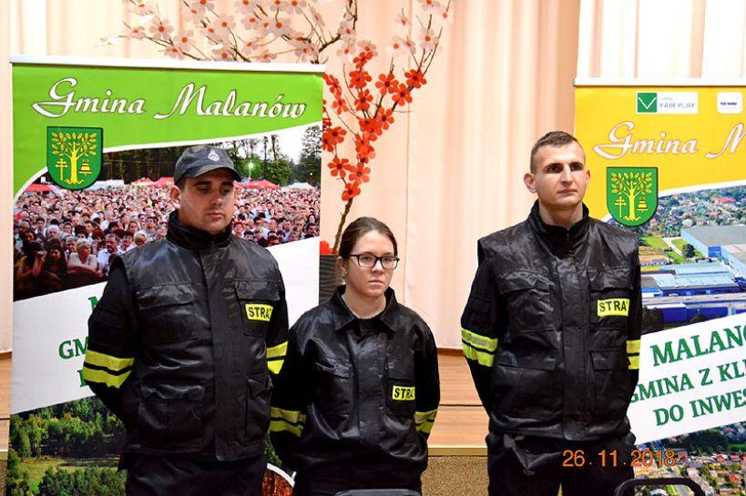 Strażacy z Gminy Malanów zyskali nowy sprzęt