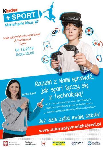 Monika Pyrek poprowadzi alternatywne lekcje WF-u dla najmłodszych!