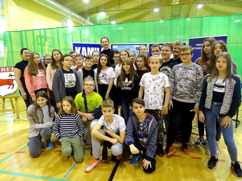 Mistrzyni Kamila Frątczak w Szkole Podstawowej nr 1 w Turku