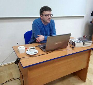 Jarosław Klonowski w turkowskiej Bibliotece