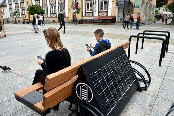 Inteligentne ławki solarne już wkrótce w...
