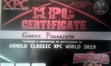 Konrad Fornalczyk będzie reprezentował Polskę na Arnold Sports Festival - foto: materiał nadesłany