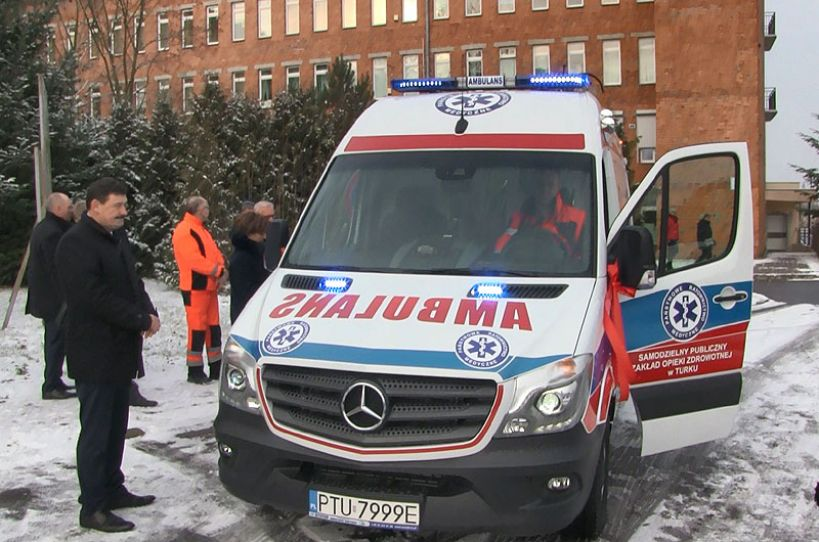 Wideo: Nowa karetka dla szpitala w Turku
