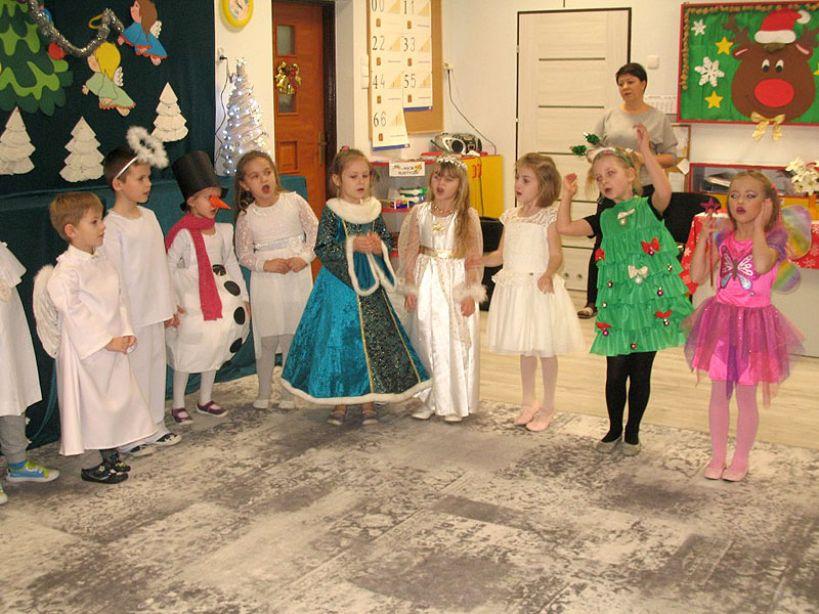 Uroczystości Bożonarodzeniowe w przedszkolu im. Misia Uszatka