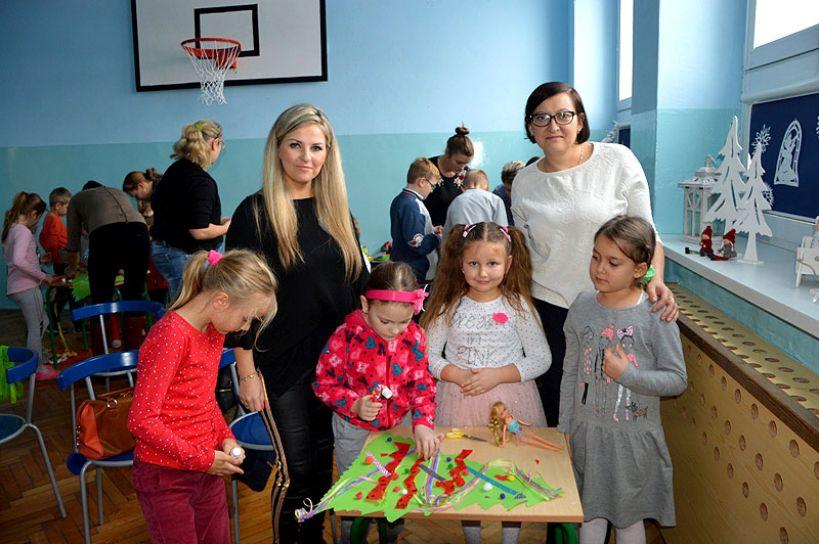 Rodzinne spotkanie bożonarodzeniowe w SP Koźmin