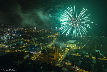 Powitali Nowy Rok 2019 z Szymonem Chodynieckim