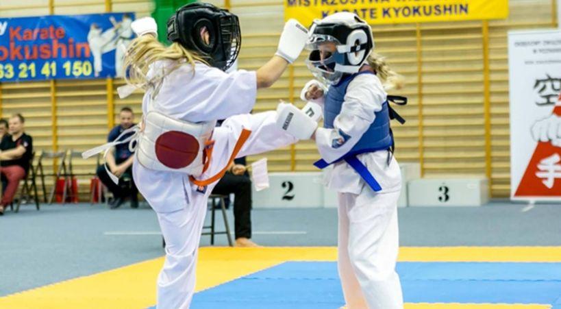 Mistrzostwa Polski Karate Full Contact w Turku - turniej kwalifikacyjny - foto: Robert Łajdecki