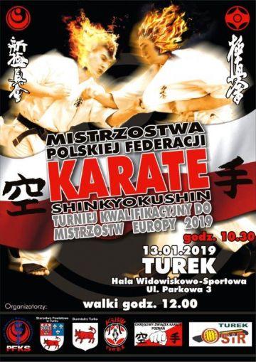 Mistrzostwa Polski Karate Full Contact w Turku - turniej kwalifikacyjny
