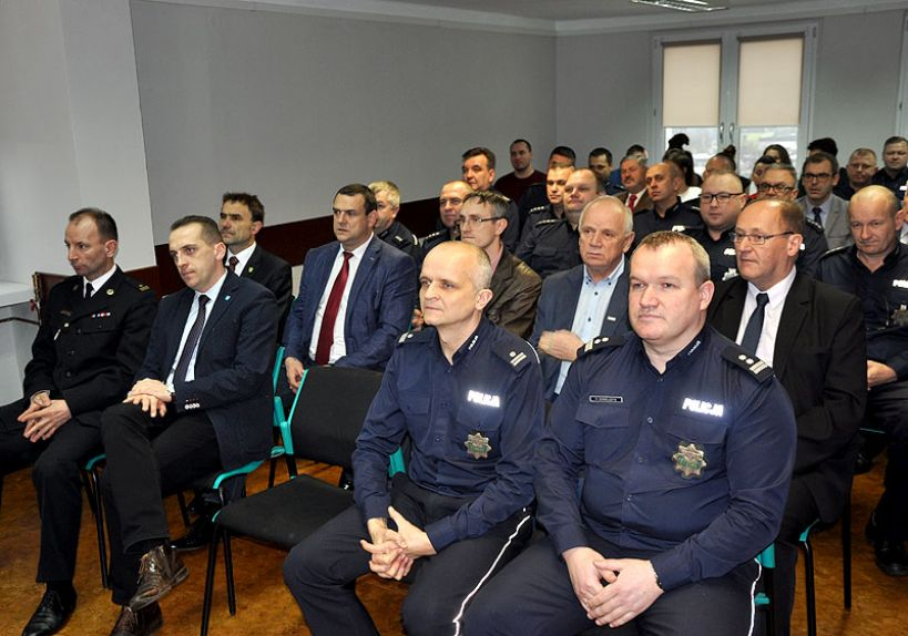 Odprawa roczna w Komendzie Powiatowej Policji w Turku - foto: KPP Turek