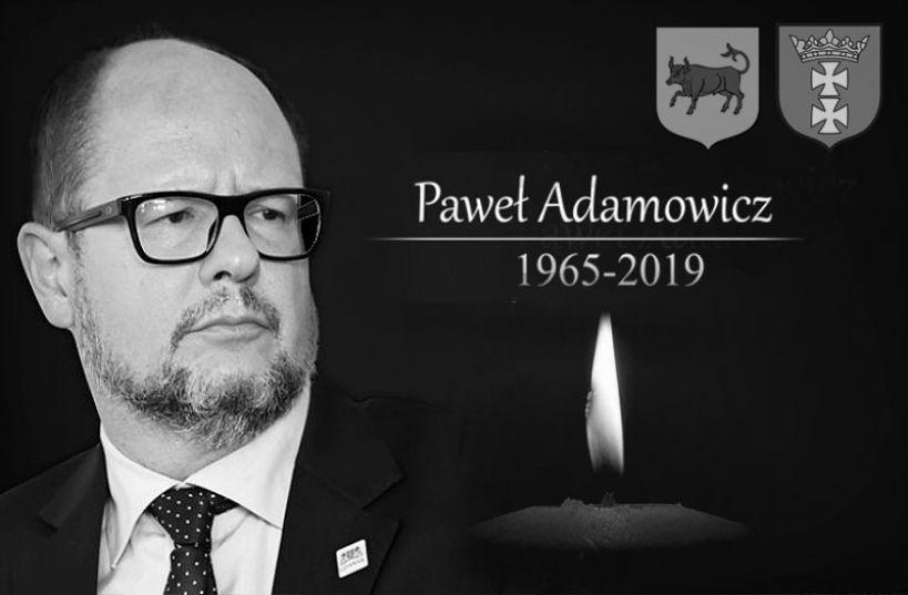 Turkowianie pożegnają śp. Pawła Adamowicza na pl. Wojska Polskiego