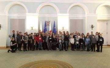 Dzieci i młodzież z Wyszyny z wizytą w sejmie