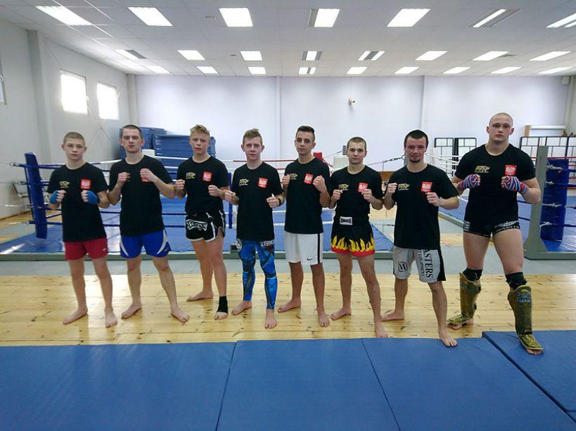 Zgrupowanie kickboxerów z Klubu Striker  w Ośrodku Przygotowań Olimpijskich