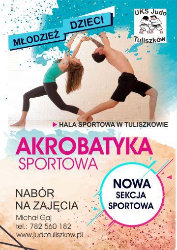 Rusza akrobatyka sportowa w UKS Judo Tuliszków