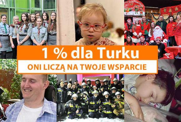 Miasto Turek: 1% dla Turku: Wspomóż organizacje z powiatu tureckiego