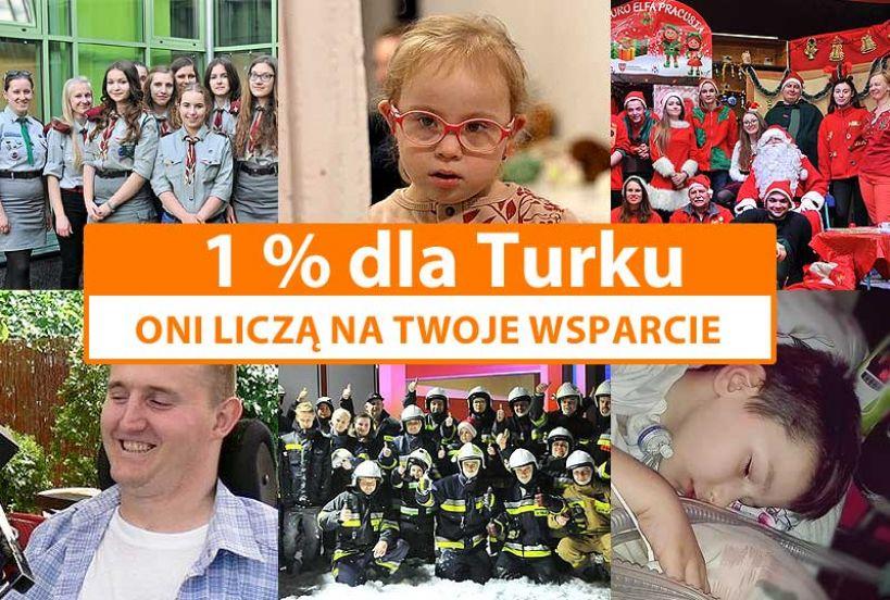 1% dla Turku: Wspomóż organizacje z powiatu tureckiego