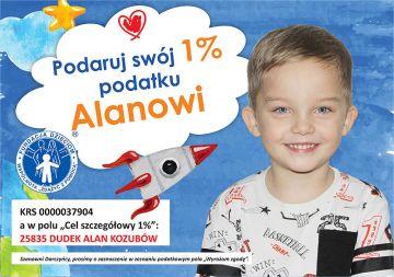 1% dla Turku: Pomoc dla naszego syna Alana