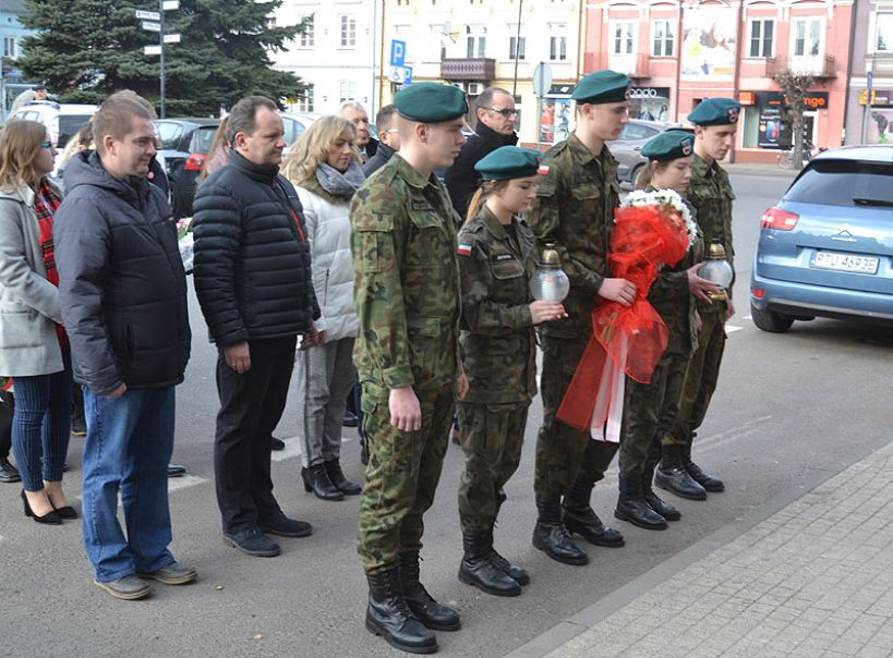 Uroczystość z okazji Dnia Pamięci Żołnierzy wyklętych