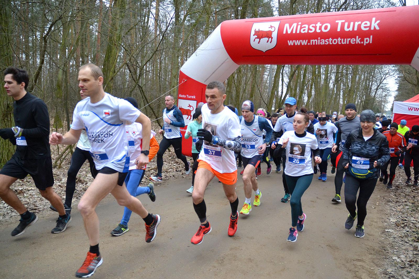 Ponad 110 uczestników pobiegło w VII edycji Tropem Wilczym - foto: Michał Sidorowicz