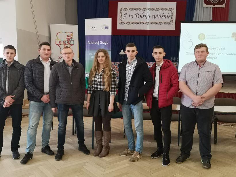 Sukces ZSR na Olimpiadzie Młodych Producentów Rolnych