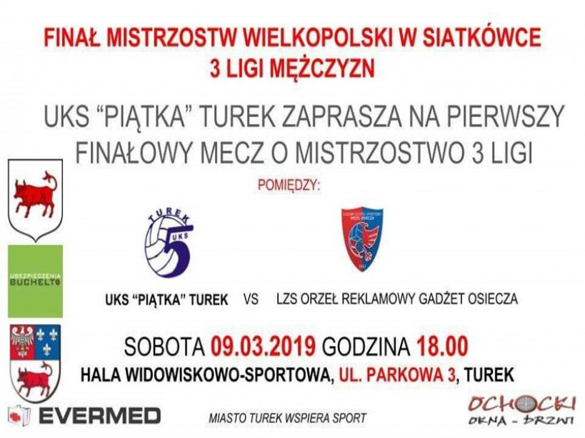 Finał mistrzostw Wielkopolski w siatkówce w Turku