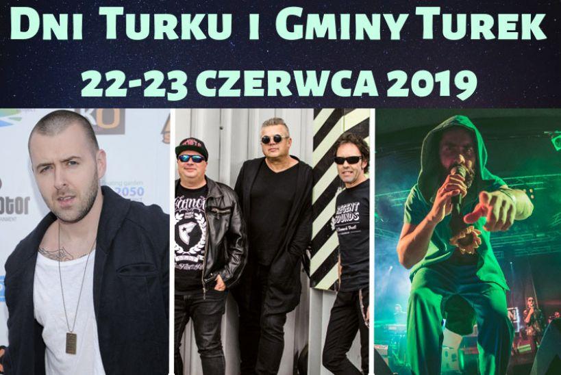 Plejada gwiazd na Dniach Turku i Gminy Turek 2019