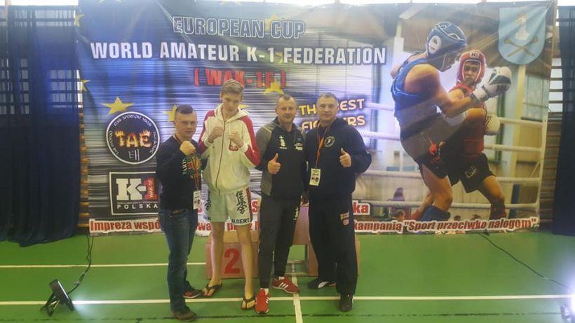 Młody Tuliszkowianin z mistrzostwem Europy - foto: www.facebook.com/MuahThaiTuliszkow