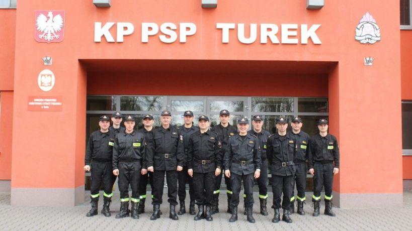 Niezwykła wizyta w tureckiej komendzie PSP