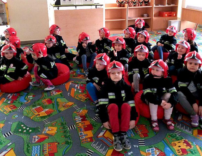 Odwiedziny przedszkolaków w PSP Turek