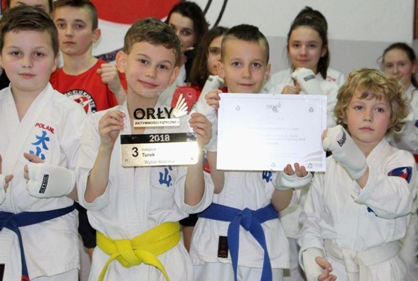 Klub Karate z Turku wyróżniony w ogólnopolskim plebiscycie