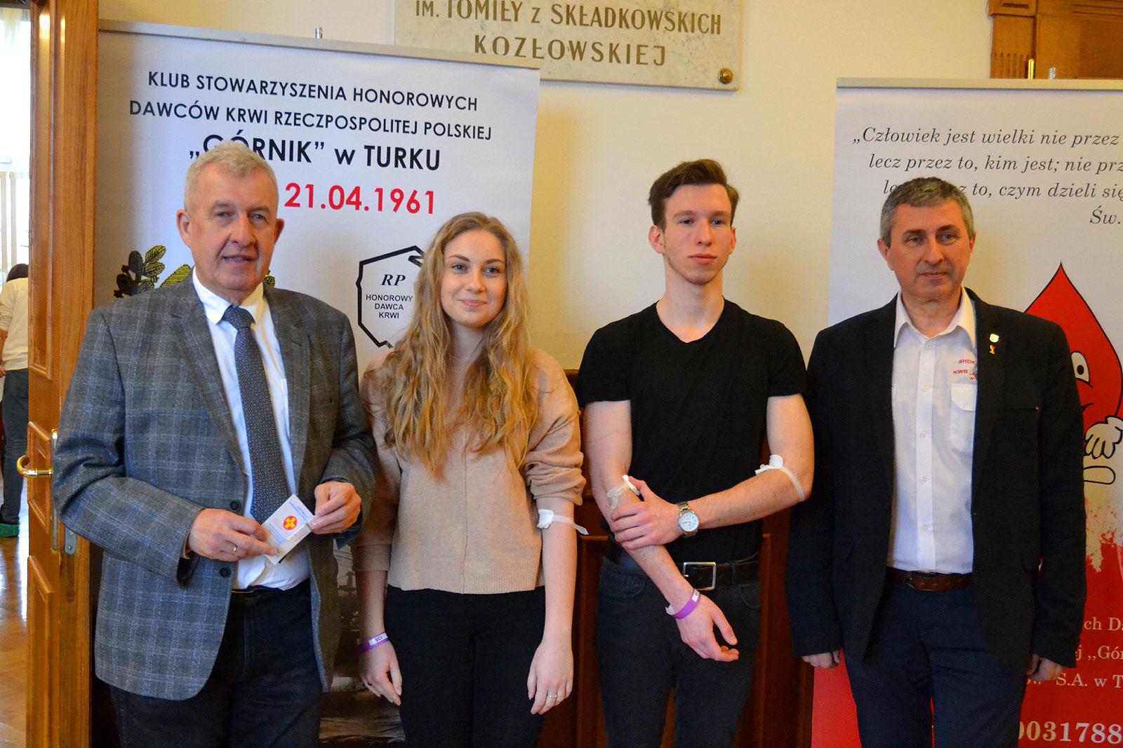 Zbiórka krwi w LO Turek. Honorowa akcja uczniów zebrała ponad 22 litrów - foto: Mateusz Łechtański