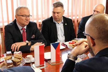 Wizyta delegacji z Brandýs nad Labem. Goście z...