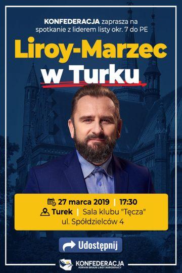 Liroy w Turku. Piotr Liroy Marzec spotka się z mieszkańcami w ramach kampanii do PE