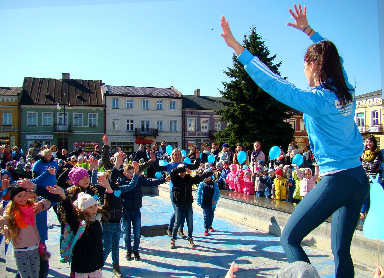 Niebieski Happening czyli Światowy Dzień Świadomości Autyzmu w Turku