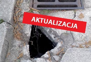 Niebezpieczna dziura na ulicy Florczaka. Urząd...