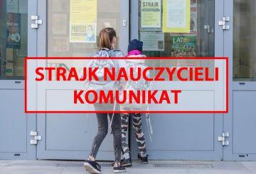 Komunikat UM Turek związany ze strajkiem...