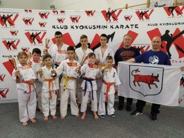 Karatecy z Turku na międzynarodowym turnieju....
