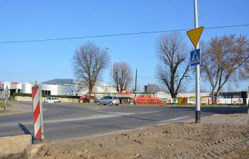 Nowe rondo w Turku na skrzyżowaniu ulic...