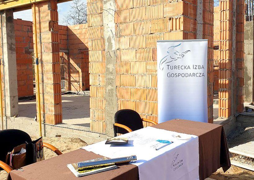 Wmurowanie Kamienia Węgielnego pod budowę Centrum Biznesu i Innowacji Tureckiej Izby Gospodarczej - foto: Anna Goszczyk / TIG
