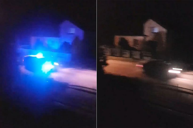 Wideo: Nocny pościg w gminie Dobra. Uciekał samochodem a potem piechotą