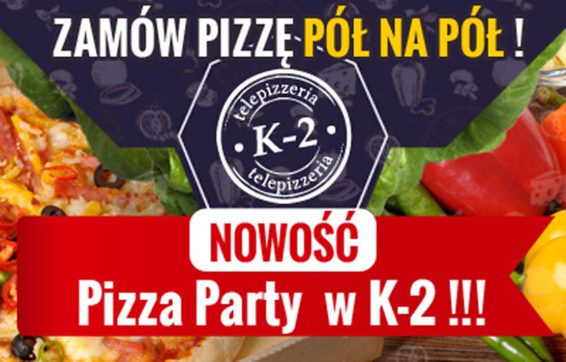 Nowa Pizza Party na wiosnę od 11 kwietnia w Telepizzerii K2!