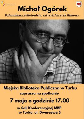 Spotkanie z Michałem Ogórkiem