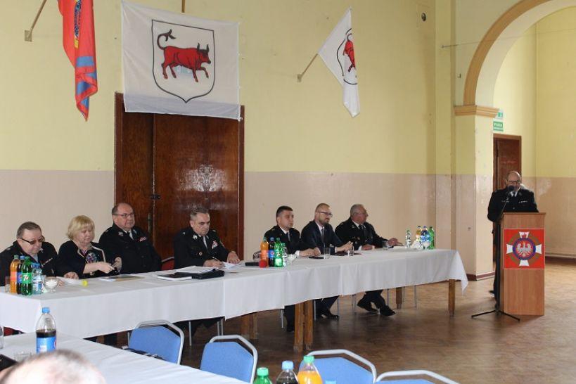 Powiatowa narada szkoleniowa jednostek OSP z terenu powiatu tureckiego. - Zdjęcia : mł. bryg Krzysztof Kubiak / PSP Turek