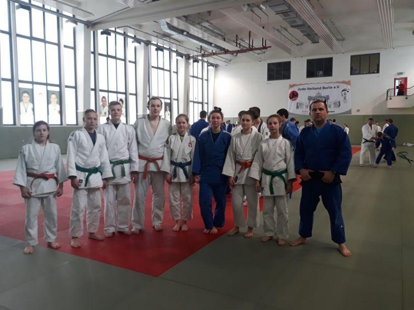 Judocy z Tuliszkowa w Berlinie. Pojechali aby szlifować swoje umiejętności